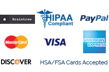 HIPAA compliant with multiple payment options